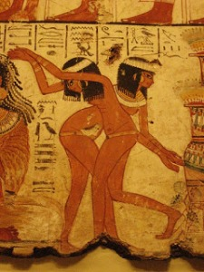Ancient Egyptian erotic dancers