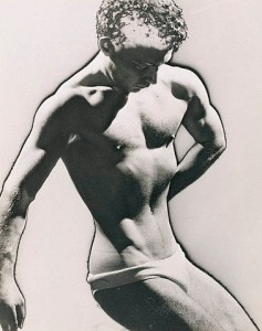 Man Ray: Male Figure Study, 1933