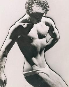 Man Ray: Male Figure Study, 1933