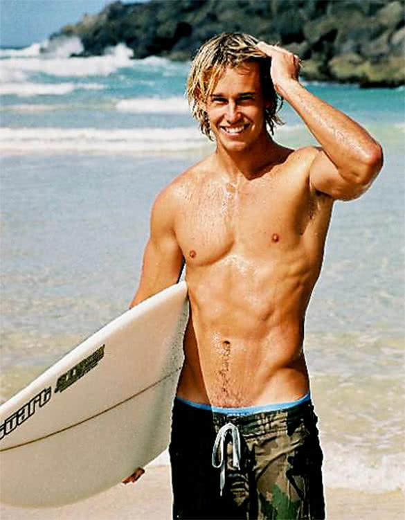 Chase surfer